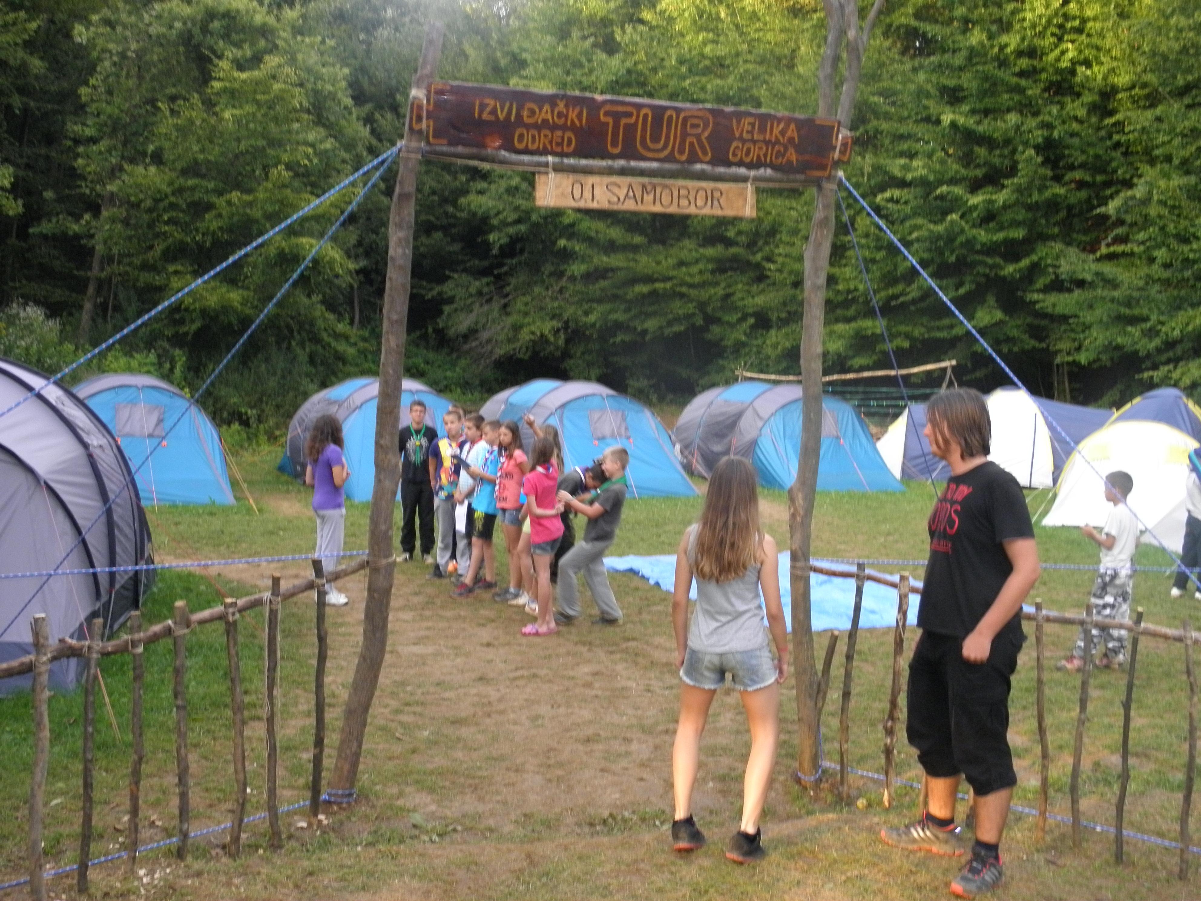 Read more about the article Kišno ljeto na logorovanju u Donjem Velemeriću