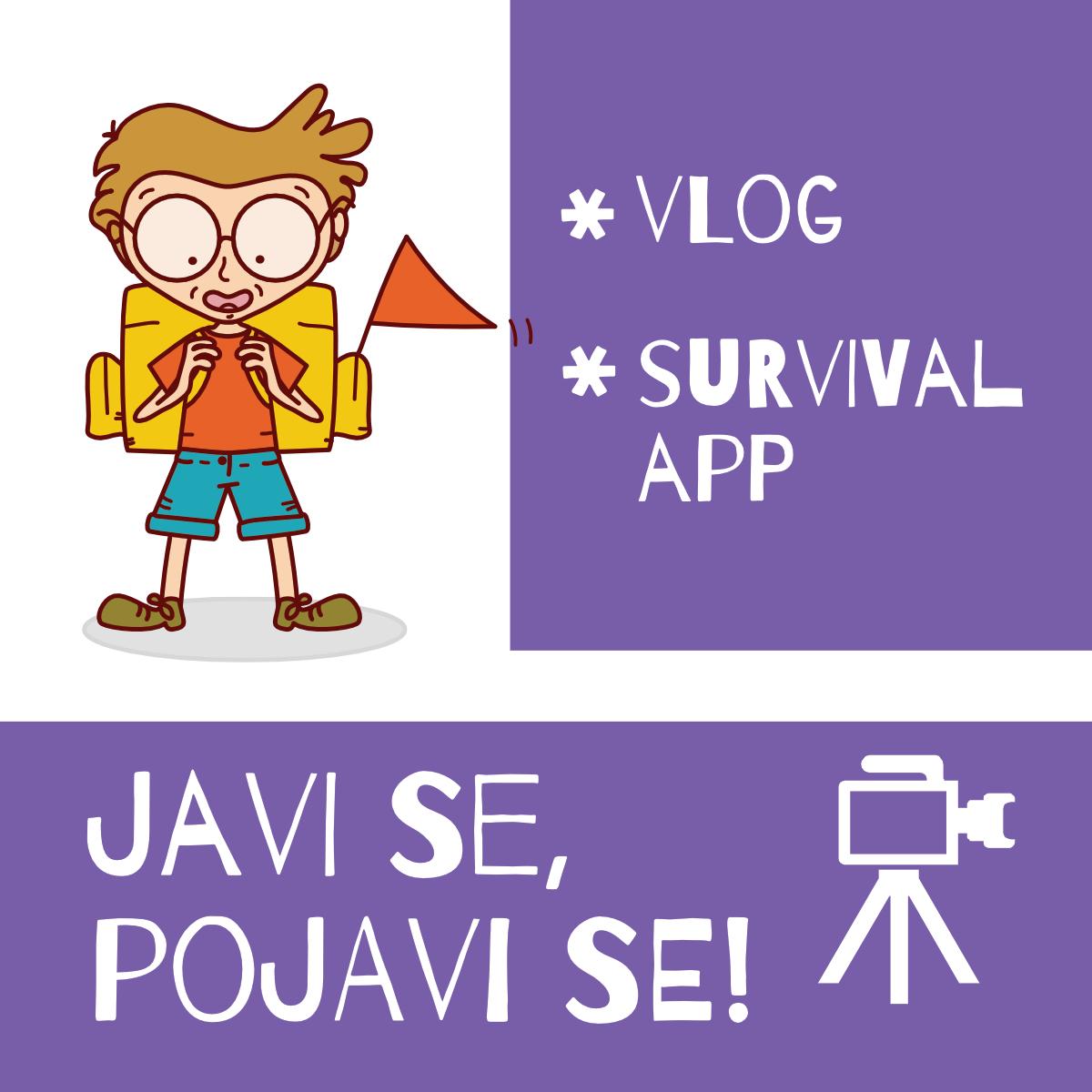 Read more about the article Vlog i Survival App ekipa – izviđači