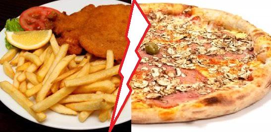You are currently viewing Pohana šnicla ili pizza?